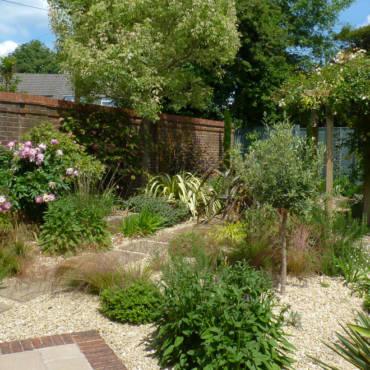 Dry Gravel Garden