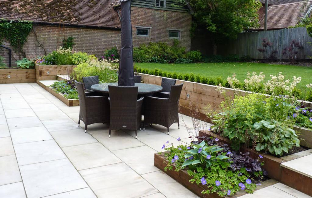 Modern Cottage Garden 3