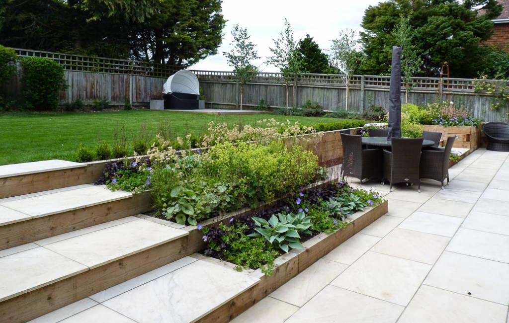 Modern Cottage Garden 4