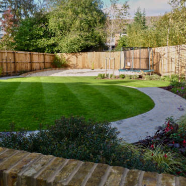Sloping Family Garden